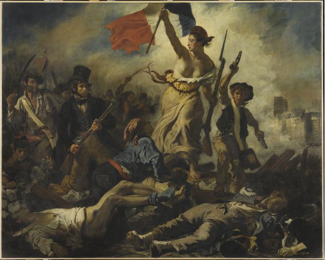 """""""Delacroix (1798-1863)"""" в Лувъра от 29 март до 23 юли, musée du Louvre, Paris"""