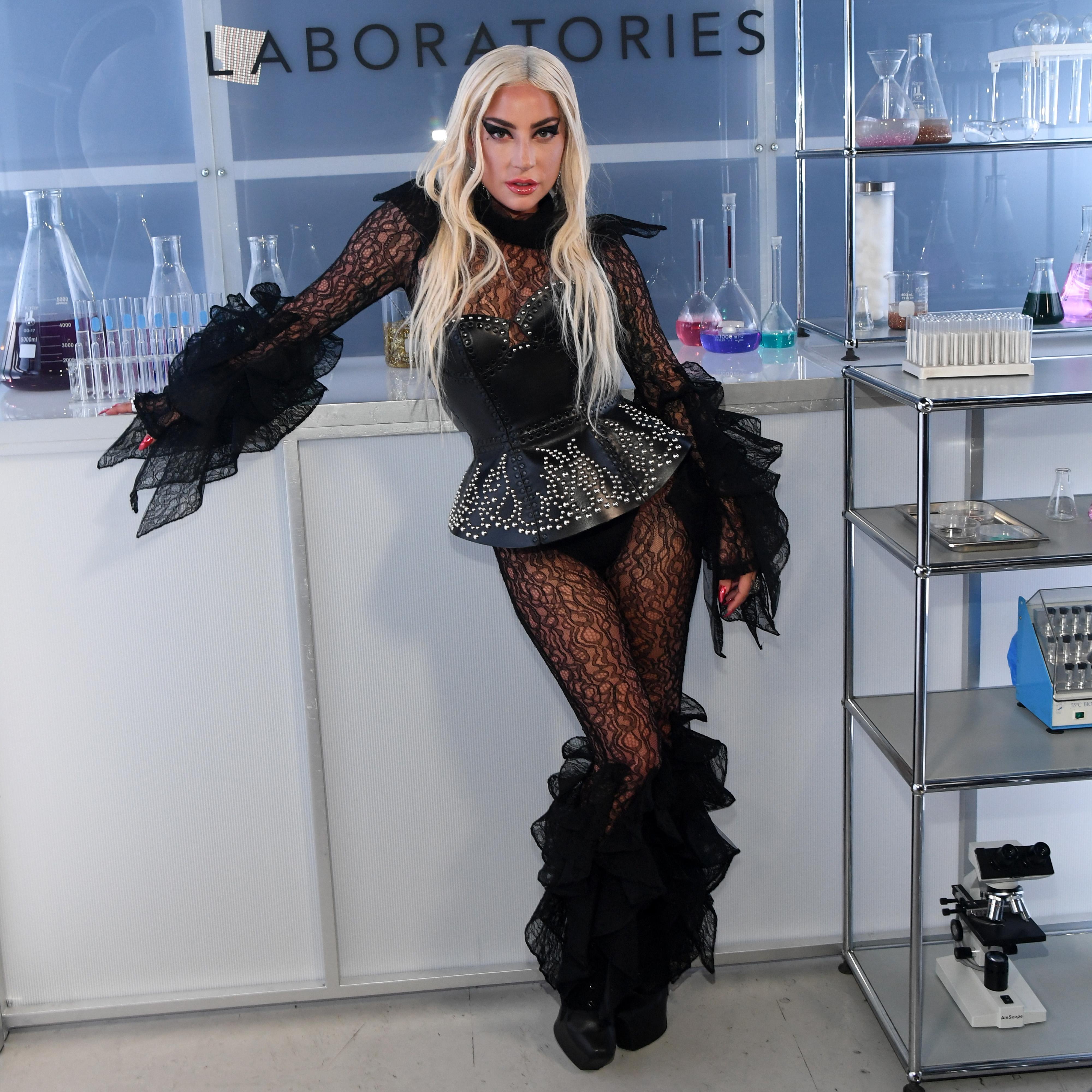 Лейди Гага лансира официално собствената си козметична линия Haus Laboratories с доста голяма забавяне, но за сметка на това с отчетлива пищност. Наборът от точно 6 разкрасителни продукта от гамата й все пак излезе в продажба през юли тази година. Сред тях има очни линии, моливи за устни, стикери, блестящи сенки в различни нюанси, налични на HausLabs.com и в Amazon, на цени от 16 до 49 долара.
