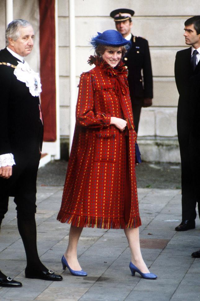 Принцеса Даяна, бременна с принц Уилям, в Бристол на 1 ноември 1981 г.