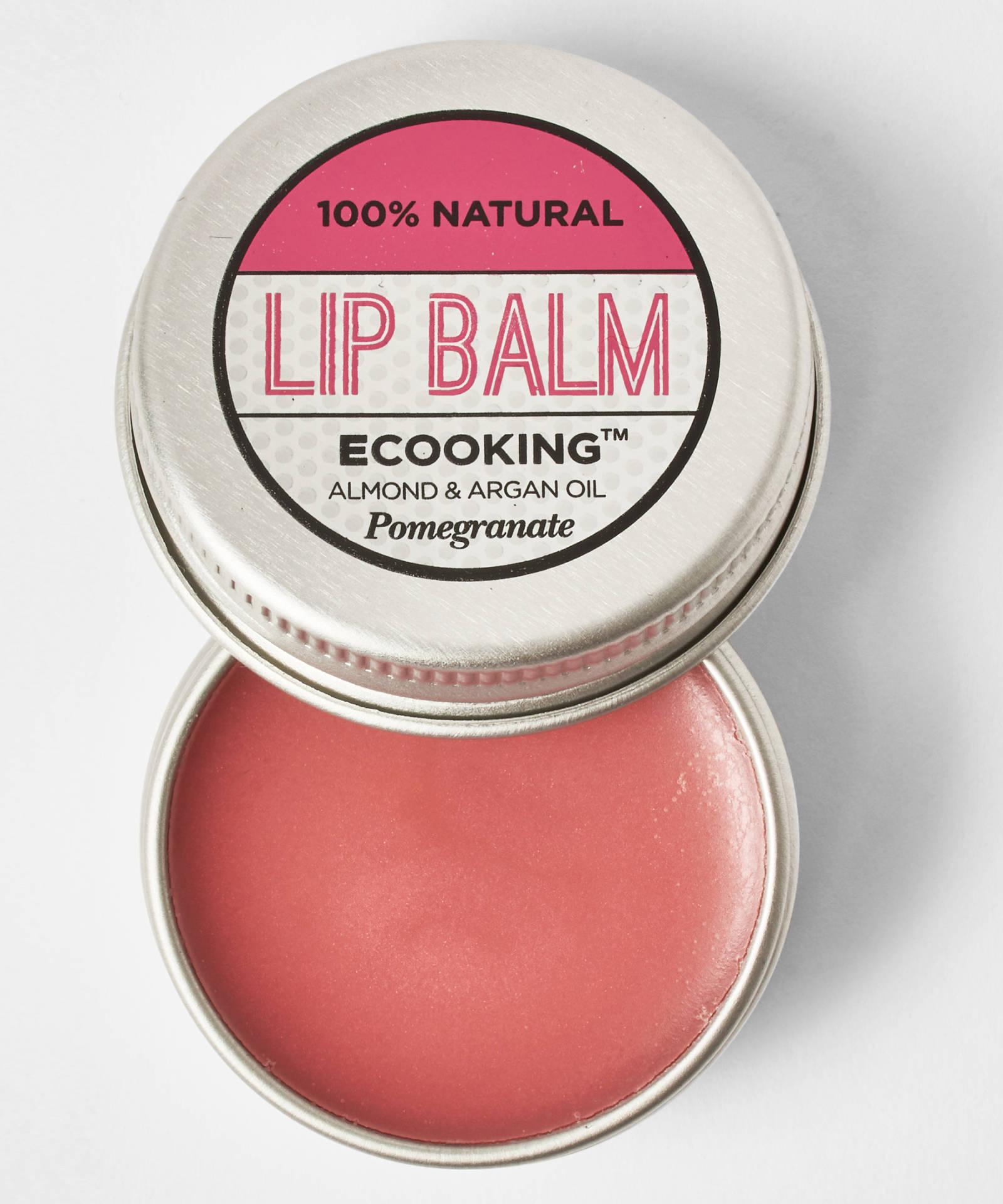 ECooking Lip Balm, 19лв./15 ml И с аромат на нар - ммм, ДА!