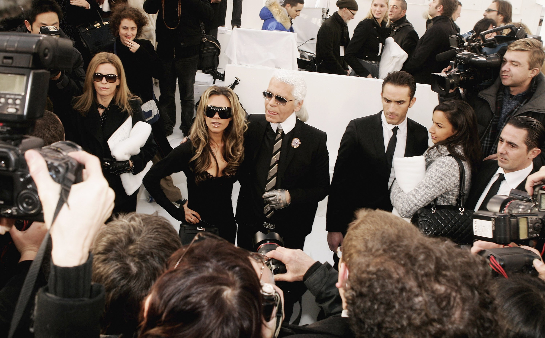 Кайзера и Виктория Бекъм, януари 2006 г.