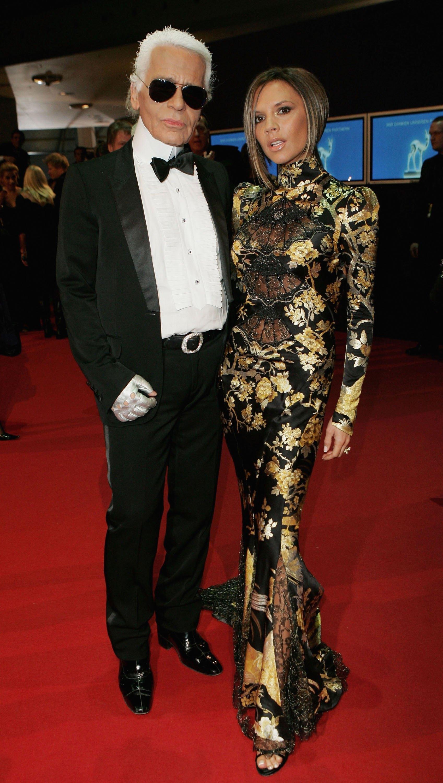 58-мите ежегодни BAMBI награди с Виктория Бекъм, 2006г.