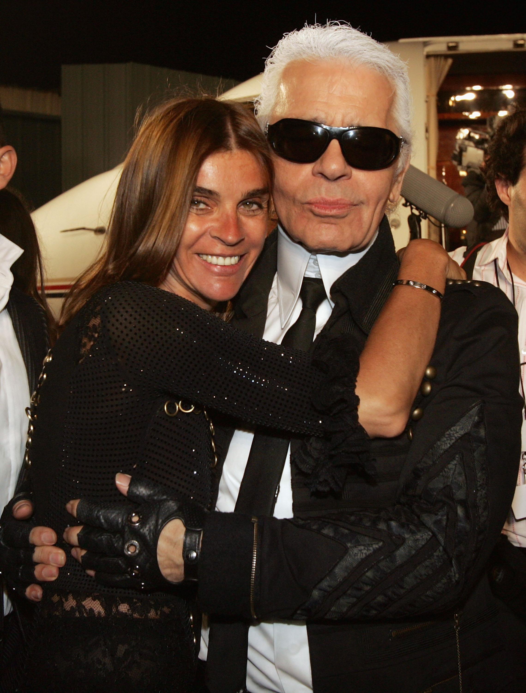 Карл и Карин Ройтфелд, 2007г.