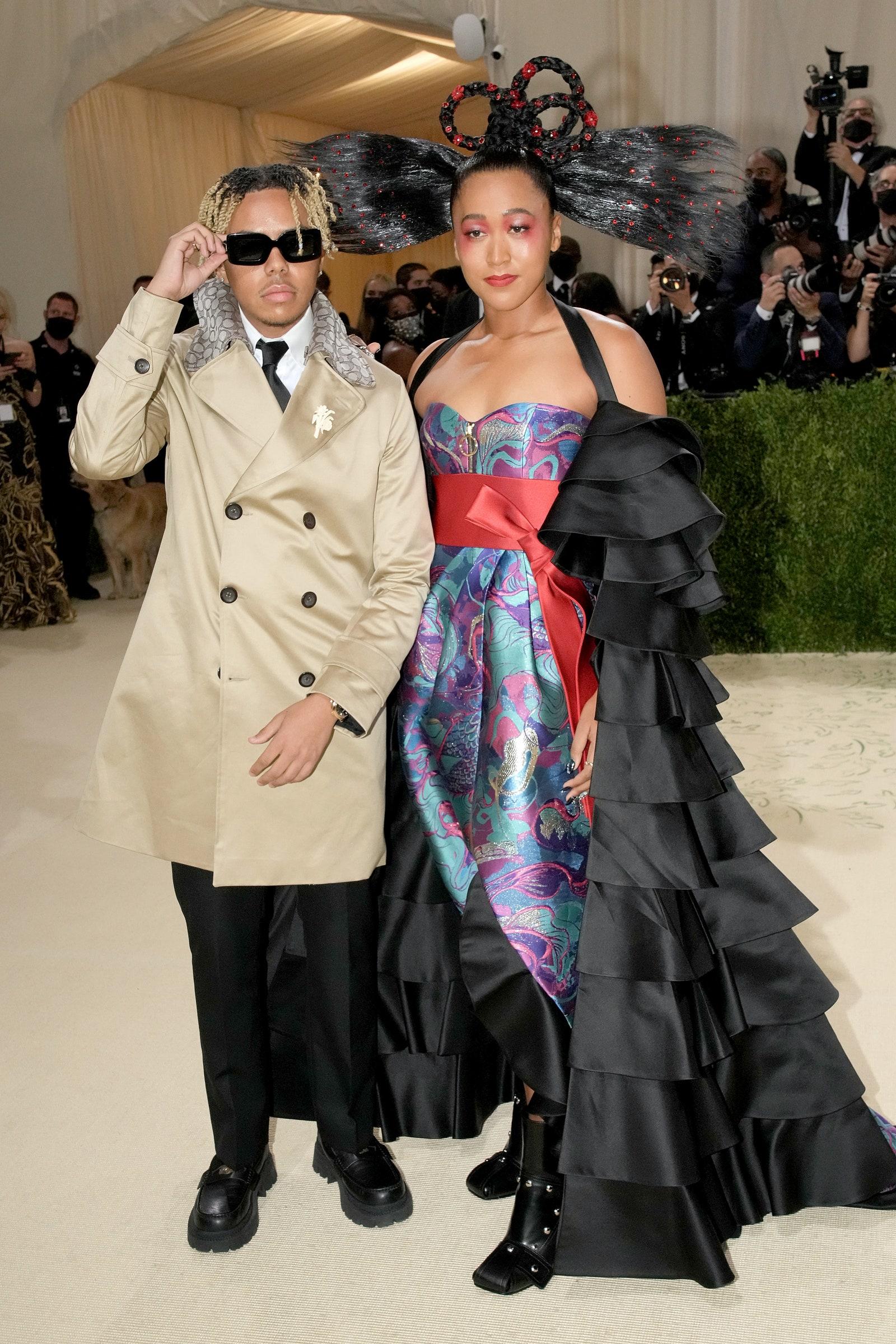 Cordae и Наоми Осака в Louis Vuitton