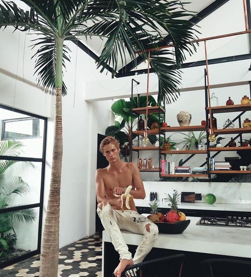 Нийлс Висър в Бали