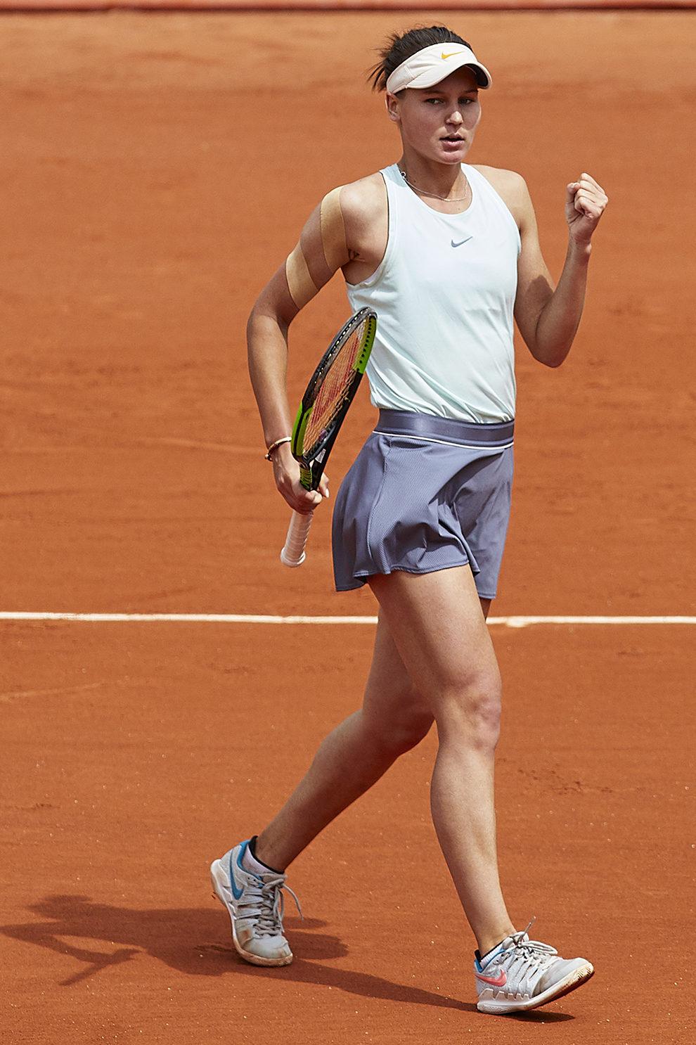 Вероника Кудерметова в Nike