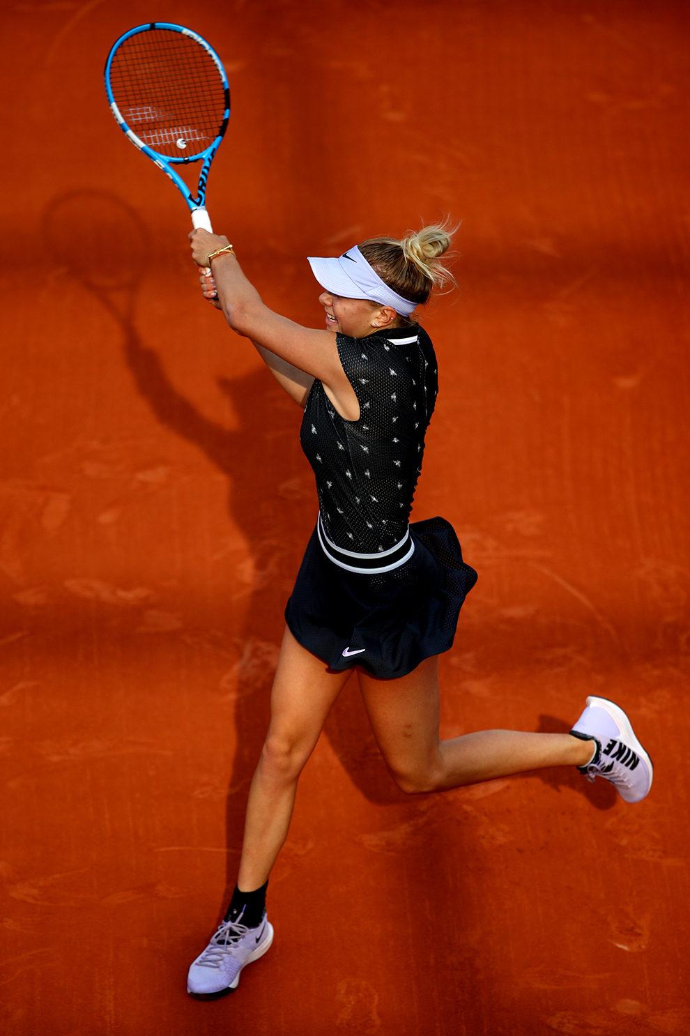 Анна Анисимова в Nike