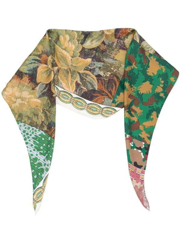 Pierre-Louis Mascia, Aloe mix-print scarf, от 210лв на 170лв