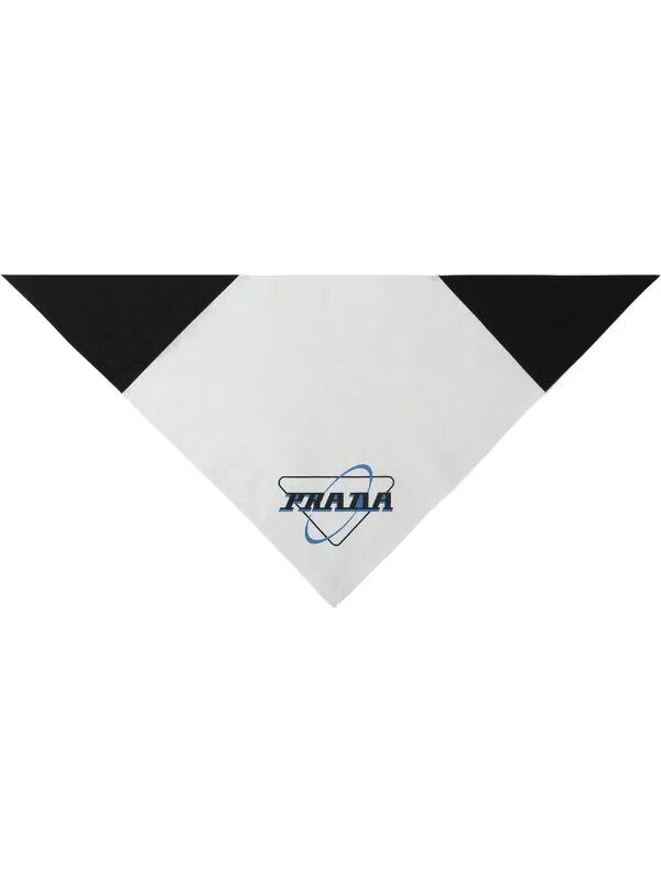 Prada, Oxford logo-print scarf, 255лв