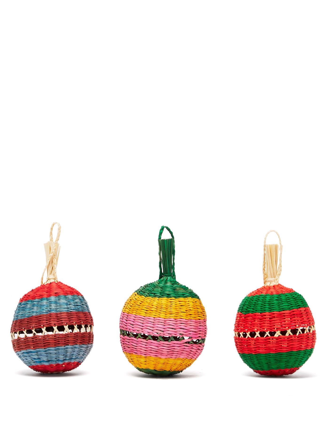 Коледни звънчета LaDoubleJ от JJ Martin, ръчно изработени в Мексико - шарени, весели, нужни за идеалната Коледа! Цена: 120 лв.