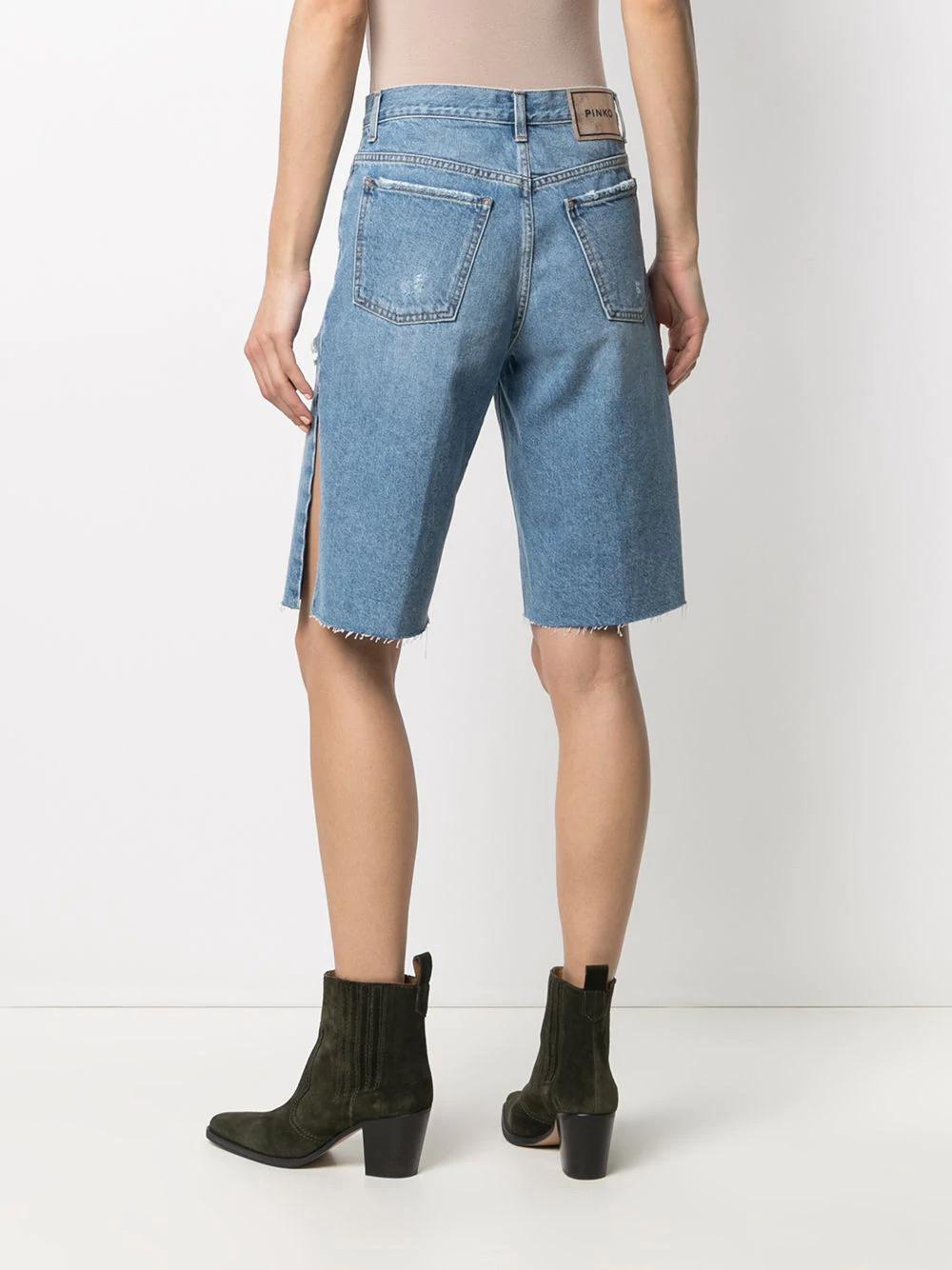 Pinko Slit Knee-length Shorts 266лв