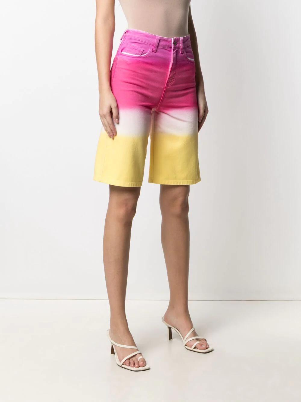 IRENEISGOOD High-rise Gradient Shorts 285лв
