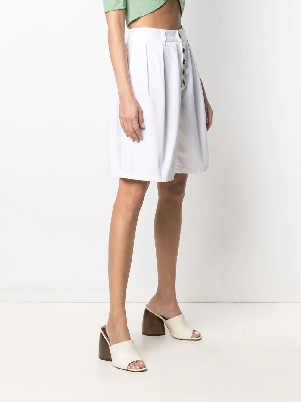 Etro Wide-leg Cotton Shorts 801лв