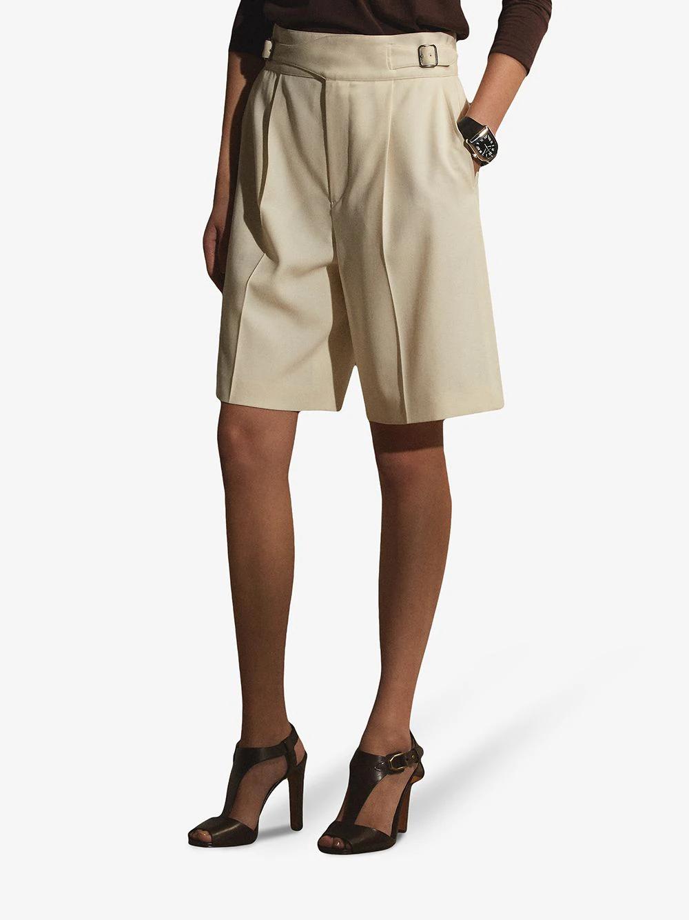 Ralph Lauren Collection High-waisted Knee-length Shorts 1271лв