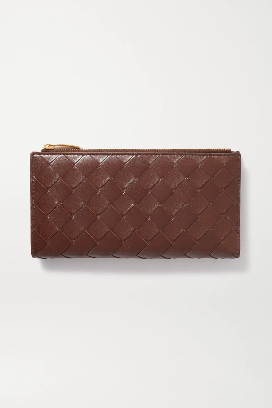Bottega Veneta Intrecciato leather continental wallet 1211лв