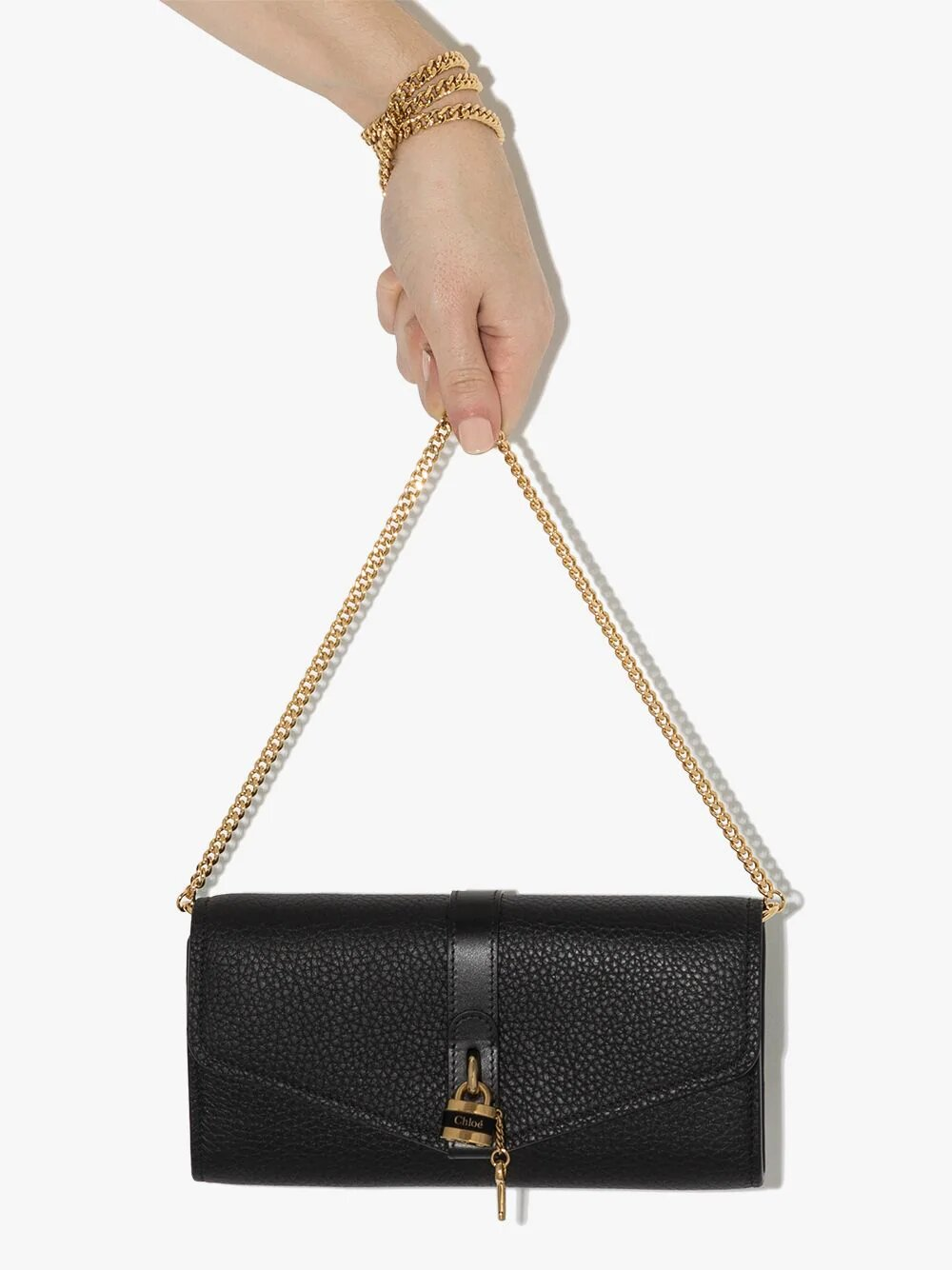 Chloé Aby Wallet on Chain 1387лв