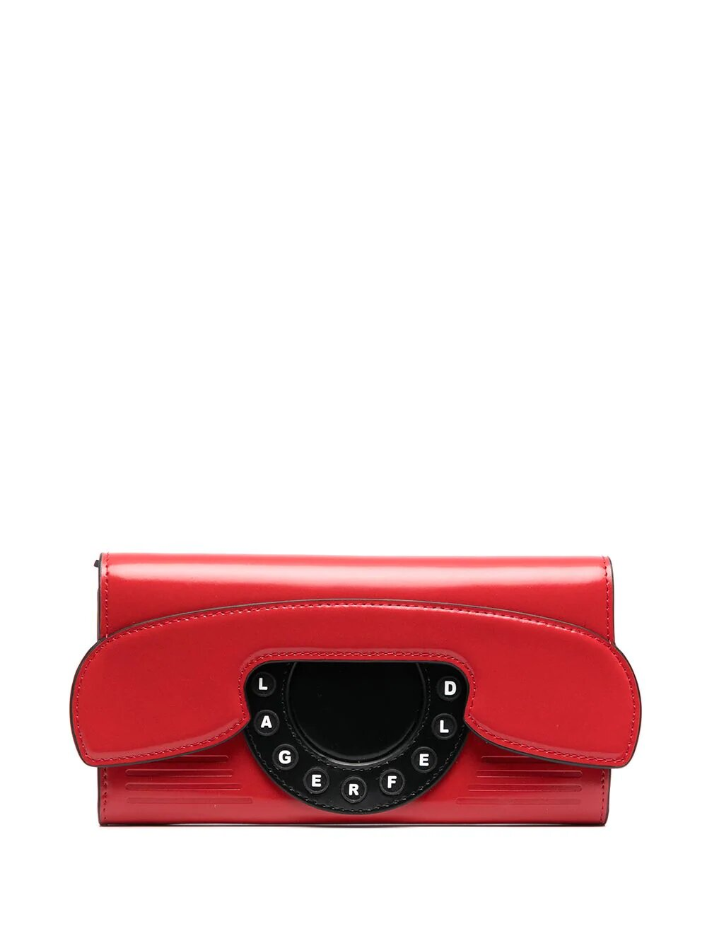 Karl Lagerfeld K/Ikon Telephone Continental Flap Wallet 302лв