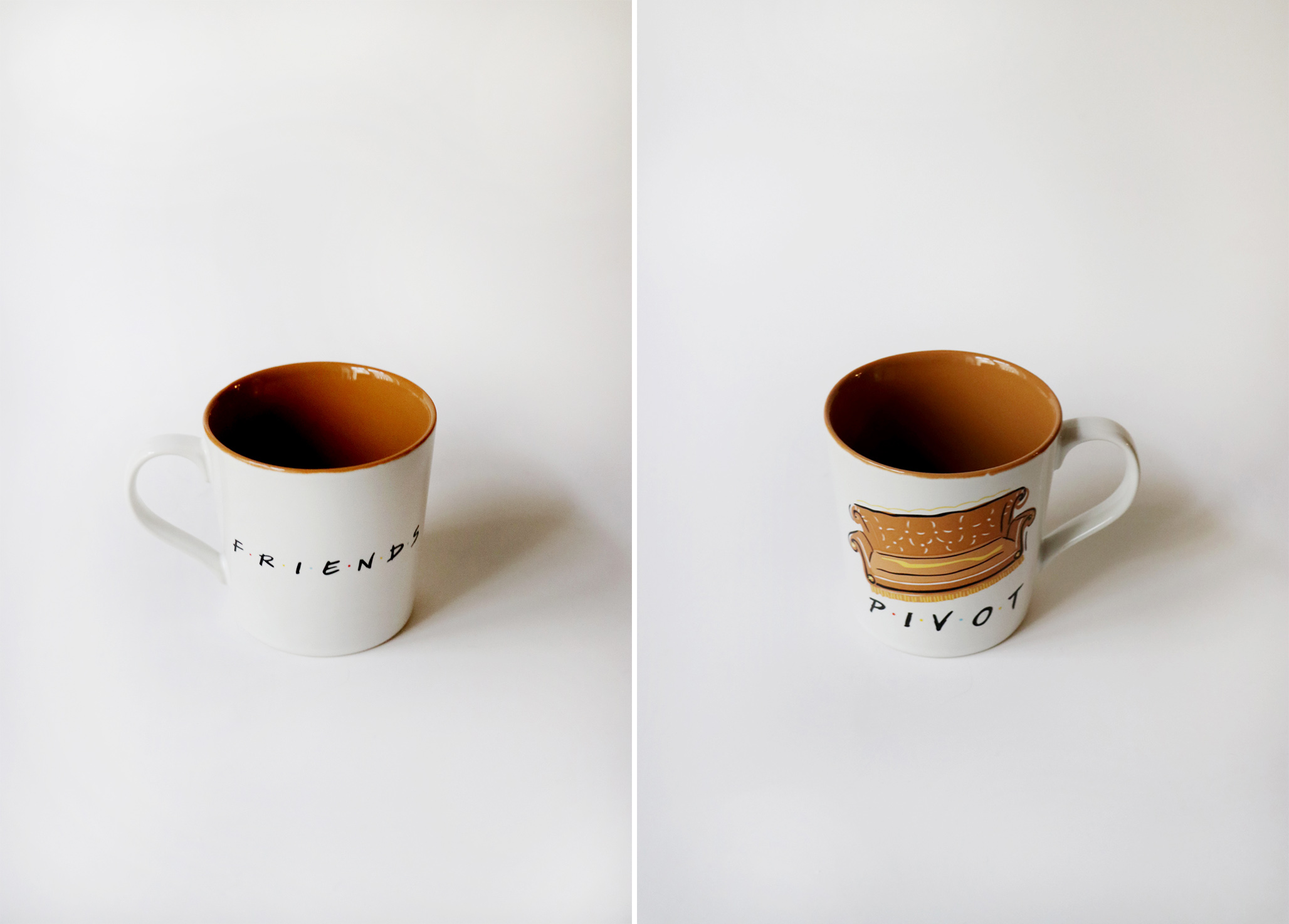 PIVOT COUCH - чаша за кафе FRIENDS, 24.90лв.