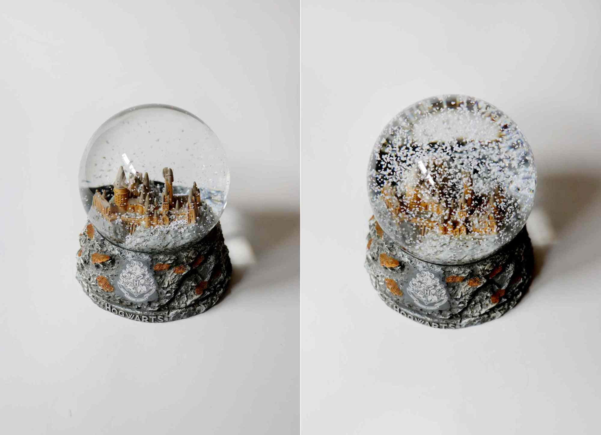 Голямо кристално снежно кълбо HARRY POTTER с Хогуортс, 94.90лв.