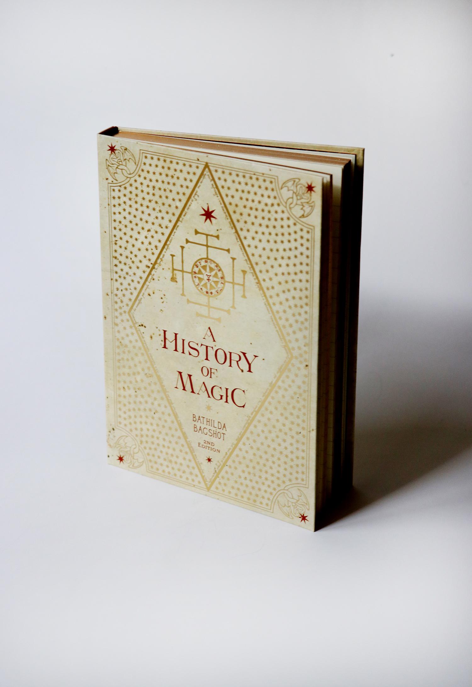 A HISTORY OF MAGIC - тефтер HARRY POTTER, 49,90лв.