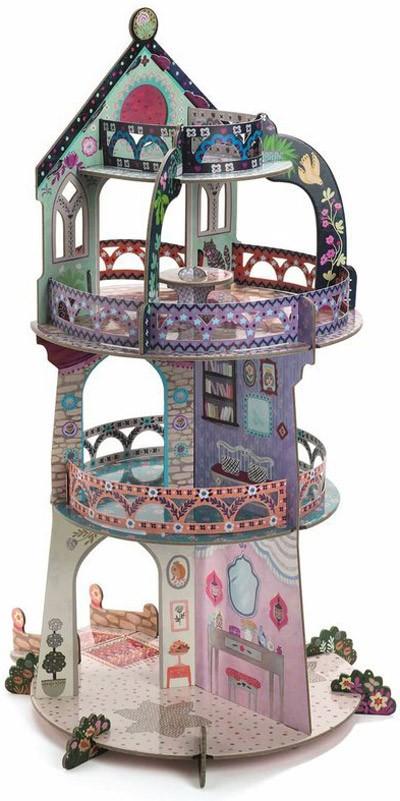 3D пъзел Кулата на чудесата представя един по-различен прочит на традиционния пъзел.