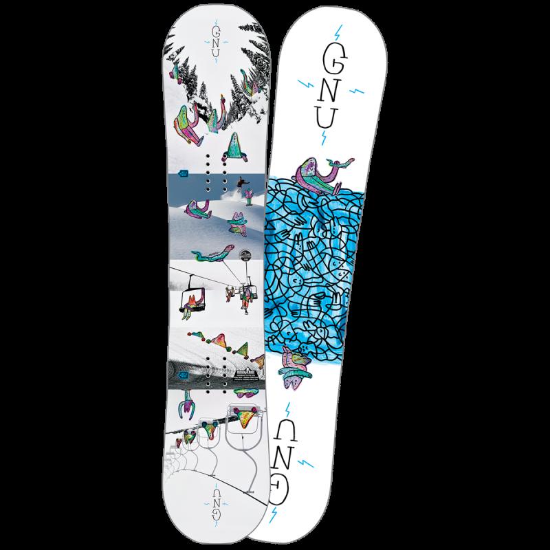Сноуборд дъска За малките любители на зимни спортове.