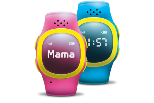 Смарт часовник Умен часовник, който служи като телефон и локатор с два бутона за набиране и отделен SOS бутон за извънредни ситуации.