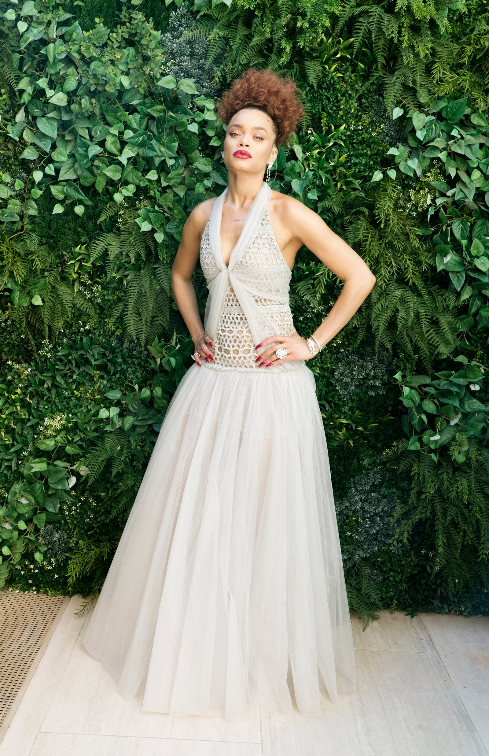 Андра Дей в Chanel