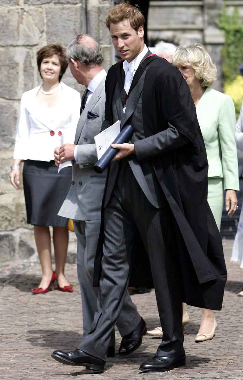 Принц Уилям през 2005 година