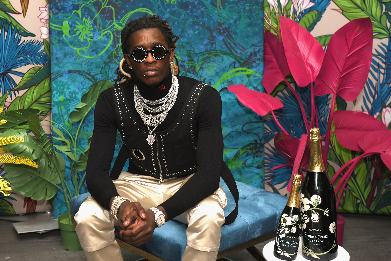 Young Thug Този рапър е толкова стилен, толкова екстравагантен, абсолютно неповторим. Много ни харесва...