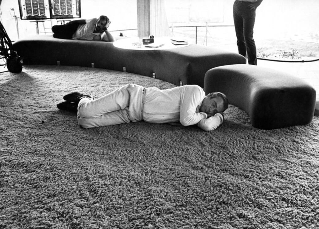 """Шон Конъри по време на снимките на """"Diamonds Are Forever"""", 1971"""