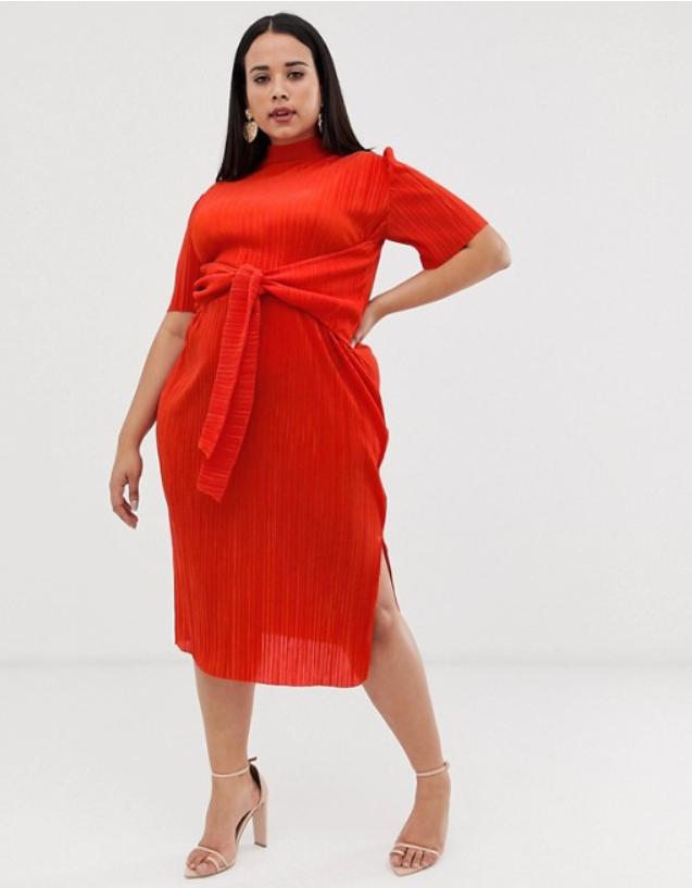 Миди рокля ASOS Design от ASOS, от 96лв. на 47лв.