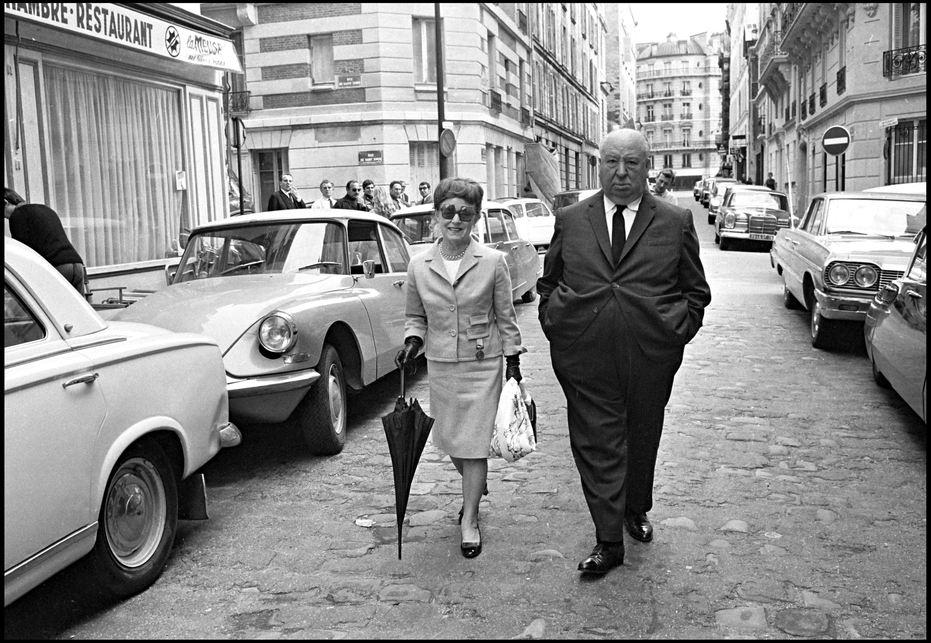 Алфред със съпругата си Алма Ревил, 1965
