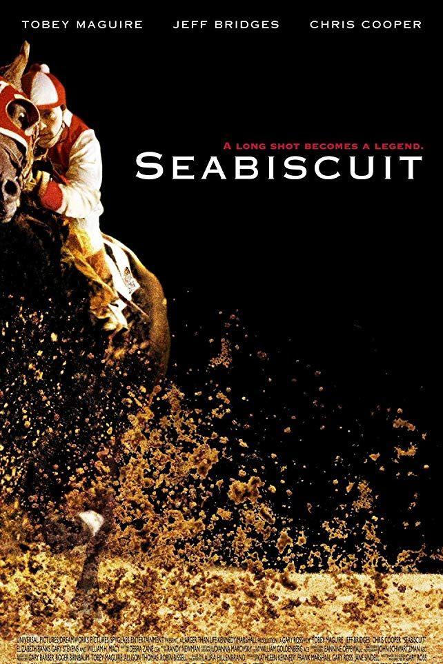 """""""Воля за победа"""" (2003) Историята разказва за трима души, които живеят във времето след Голямата Депресия. С различни съдби, те се срещат и започват подготовка за участие конните надбягвания, които тогава са много популярни. Ред (Тоби Макгуайър) е жокей, Чарлс (Джеф Бриджис) е собственикът на едно доста непокорно жребче, а Том (Крис Купър) е треньор. Конят добре си пасва с непоколебимия и доста необуздан характер на самия Ред и така тандемът завоюва множество победи. Те вдъхновяват не само героите на историята, а и целия американски народ."""