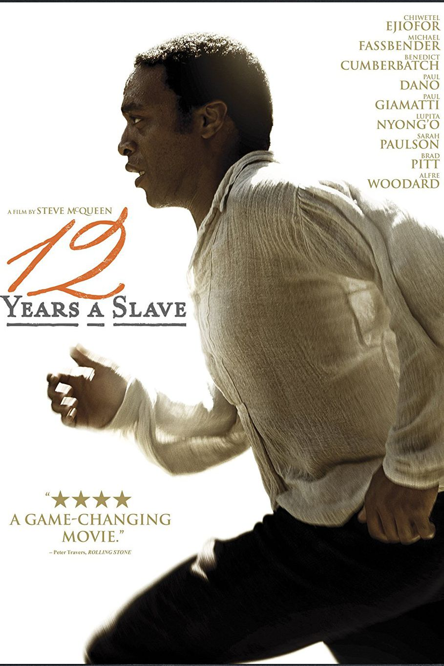 """""""12 години робство"""" (2013) История за нечувана жестокост в годините преди Гражданската война в САЩ. Разказана по мемоара """"Дванайсет години в робство"""" на Соломон Нортъп от 1853 г. - роден в свобода афроамериканец от щата Ню Йорк, който обаче е отвлечен от търговци на роби. Филмът проследява жестокостта на робовладетелите и безсилието на Нортъп пред съдебната система."""