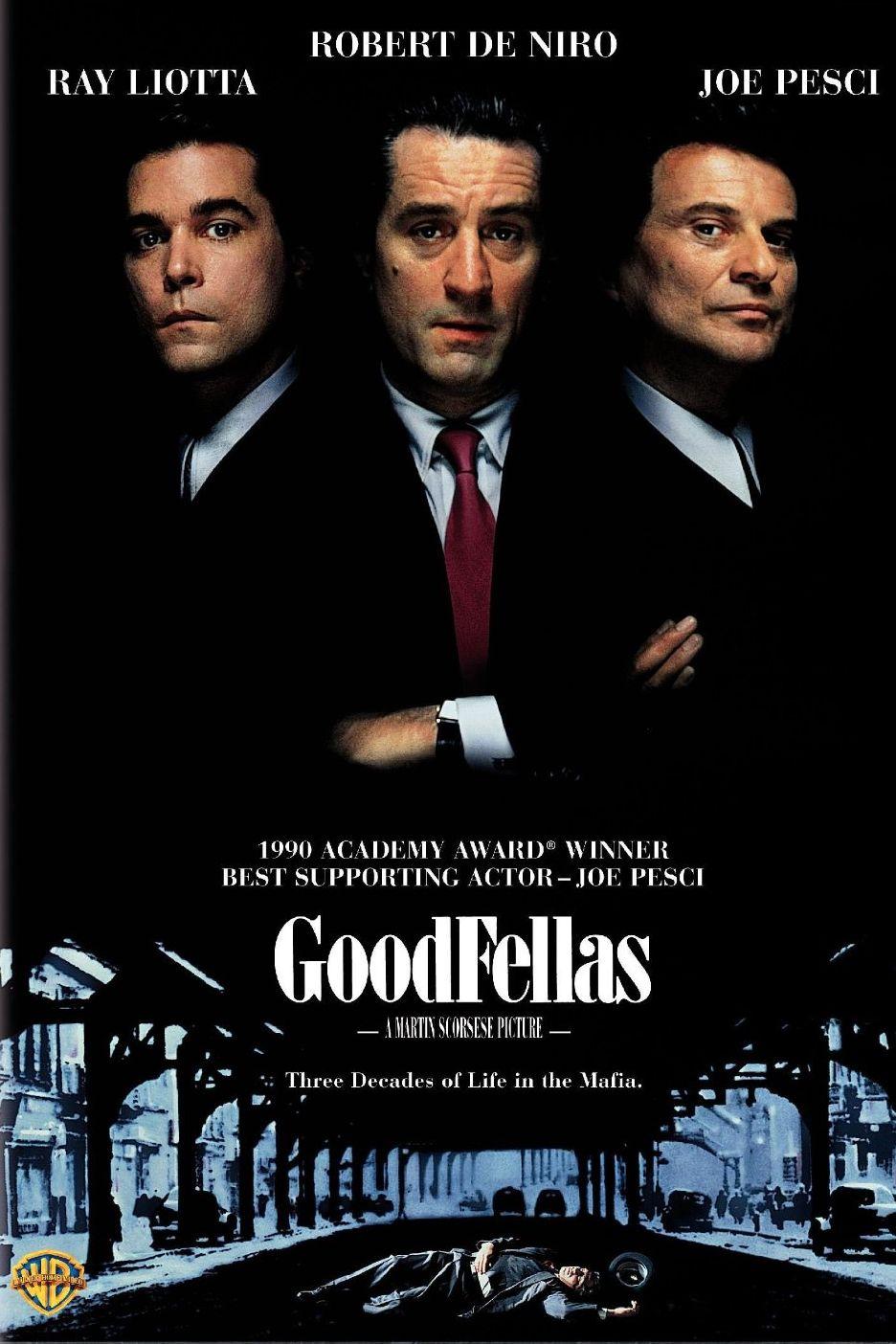 """""""Добри момчета"""" (1990) Филмът на Мартин Скорсезе е по книгата на Николас Пеледжи """"Умникът"""", който освен продуцент и сценарист, е и много добър писател на криминални документални книги. """"Умникът"""" разказва за живота на мафиота Хенри Хил, който обаче става """"добро момче"""" и започва да информира полицията в Америка за дейността на Коза Ностра. Във филма участват великите Робърт де Ниро, Рей Лиота и Джо Пеши."""