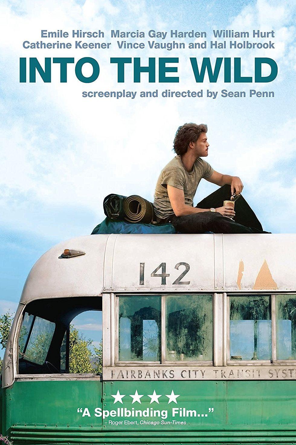 """""""Сред дивата природа"""" (2007) Уникален филм, направен по книгата на Джон Краукауер. Главният герой - Кристофър Маккендълс – завършва престижен университет в Атланта, но отвратен от властващия в САЩ материализъм, решава да напусне т.нар. цивилизован свят и да живее в дивата Аляска."""