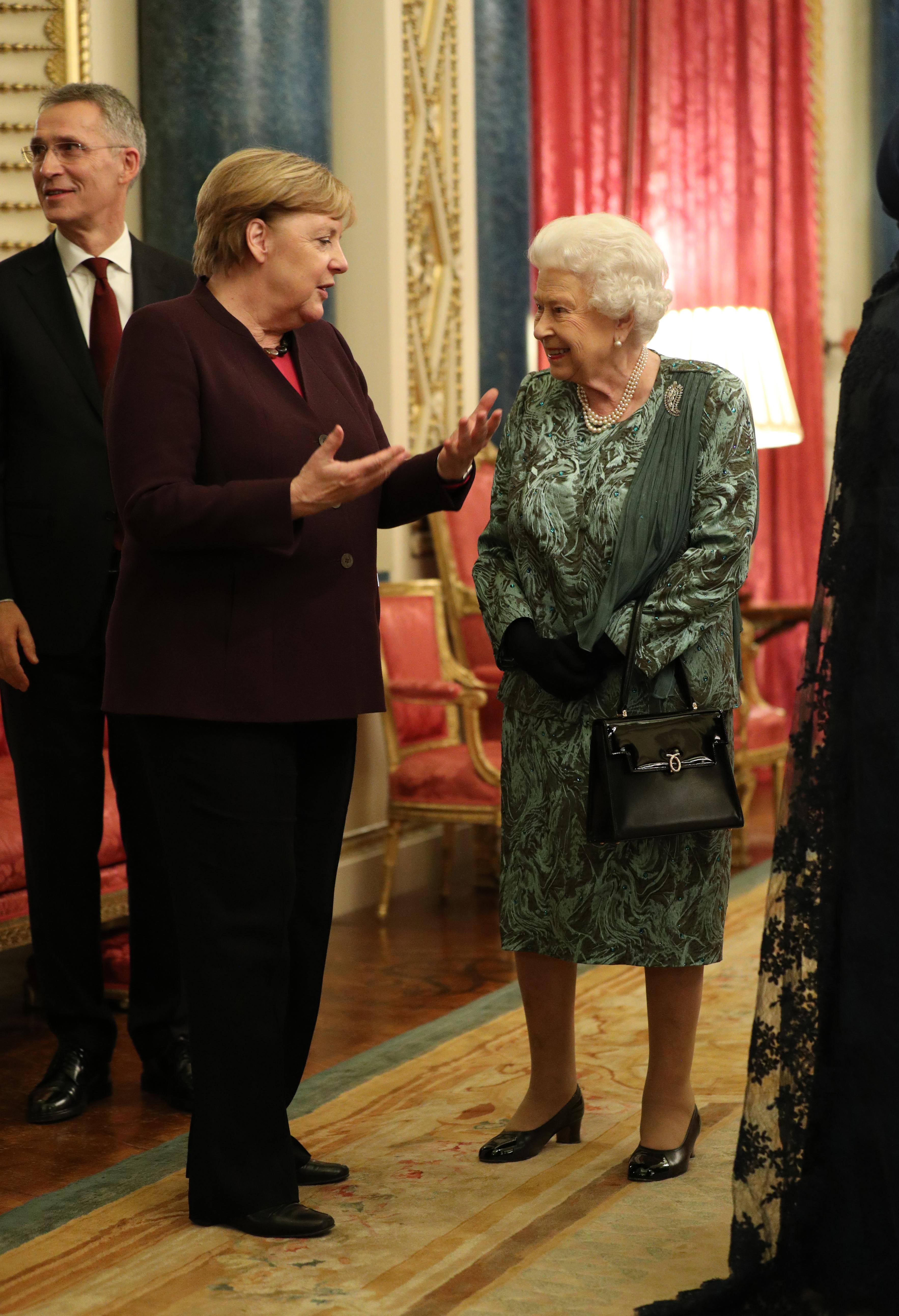 Ангела Меркел и Кралица Елизабет II