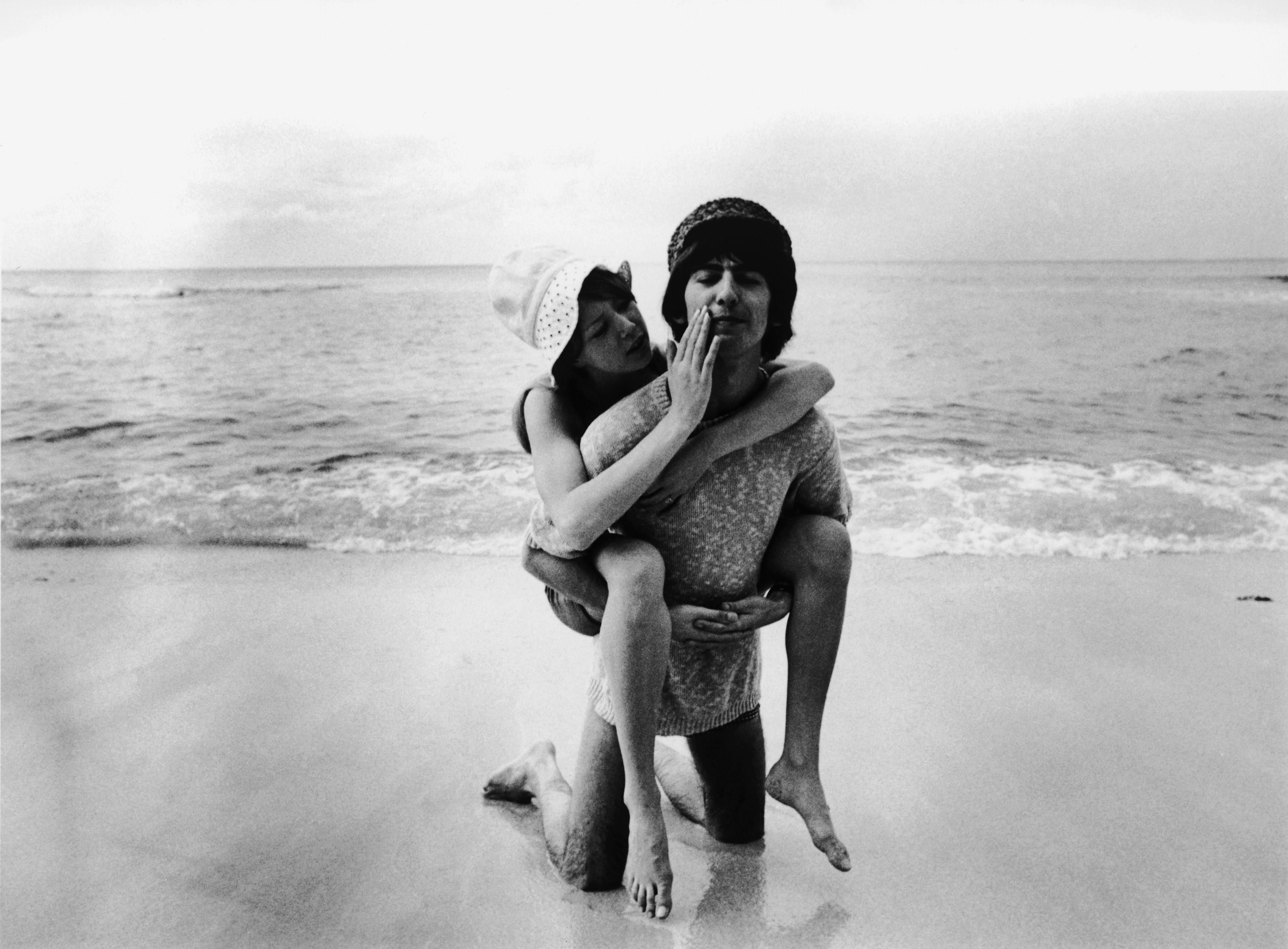 Джордж Харисън и Пити Бойд, 1966