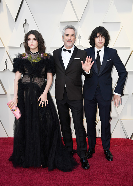 Алфонсо Куарон и семейството му