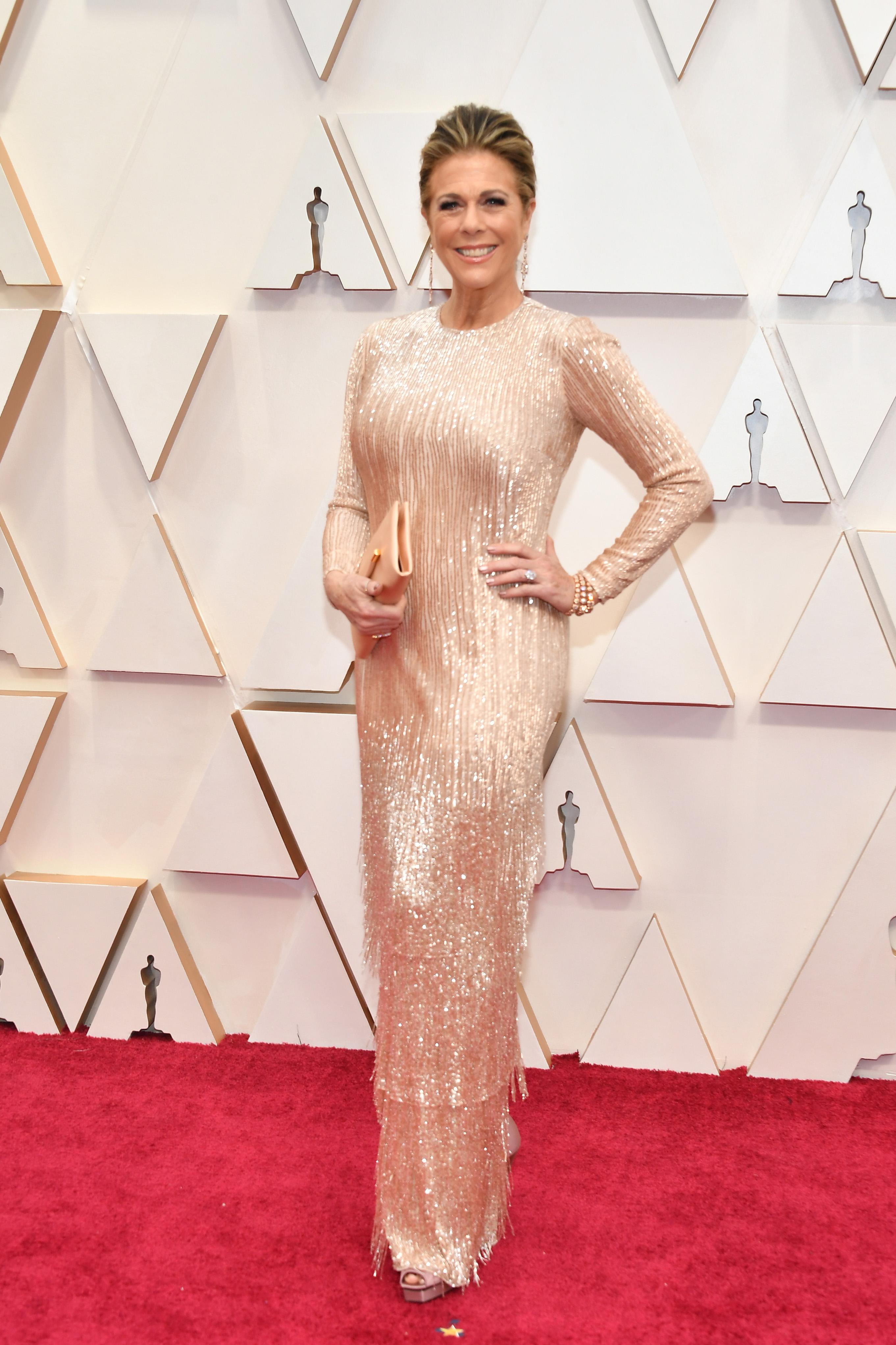 Рита Уилсън в Tom Ford  Том Форд умее да прави рокли, които карат жените да се чувстват красиви в тях.