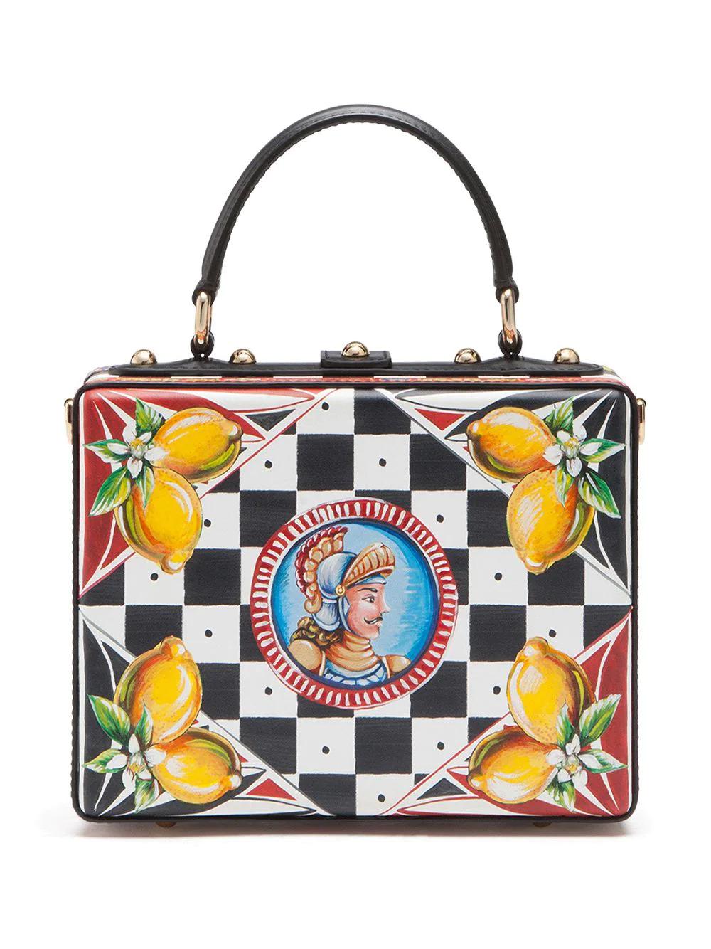 Dolce & Gabbana Dolce Box Checkboard-print Tote Bag 3420лв