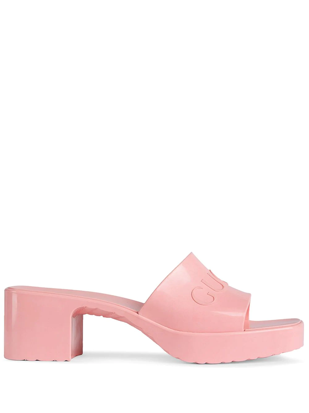 Gucci Logo Embossed Sandals 566лв