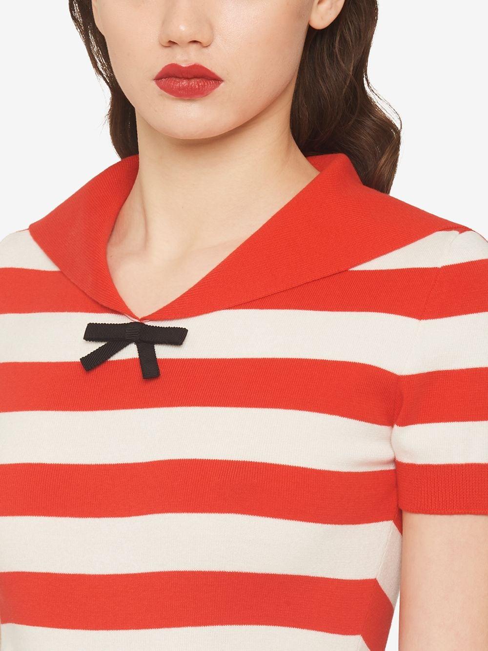 Miu Miu Striped Sailor-Style Top 1155лв