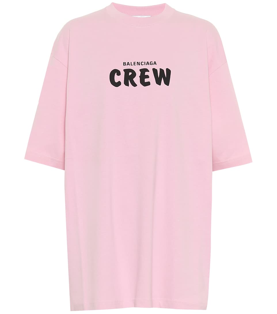 BALENCIAGA, Oversized cotton jersey T-shirt, от 908лв на 545лв