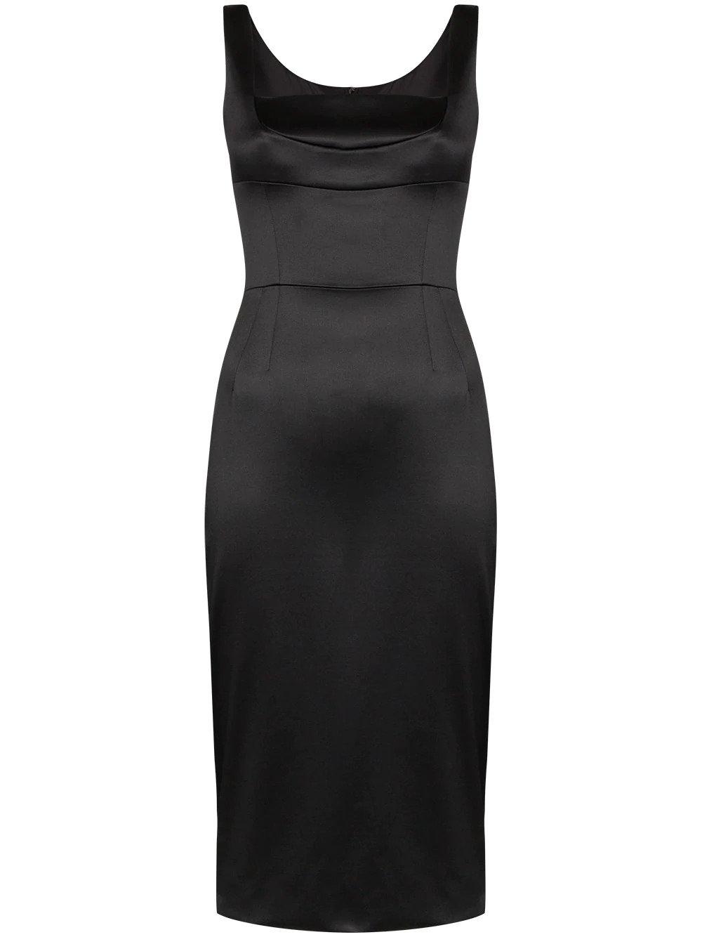 Dolce & Gabbana, Duchess fitted midi dress, от 3143лв на 1886лв