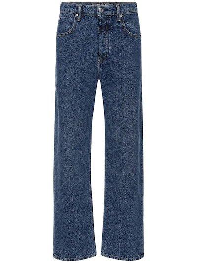 ALEXANDER WANG, Cotton denim skater jeans, от 830лв на 580лв