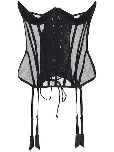 KIKI DE MONTPARNASSE, Tulle under-bust corset, от 1061лв на 529лв