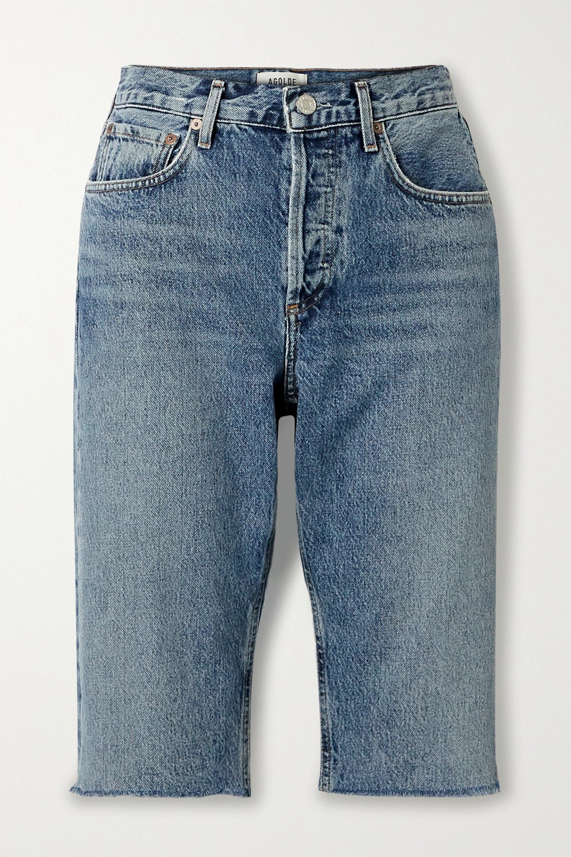 AGOLDE, Carrie denim shorts, от 370лв на 185лв