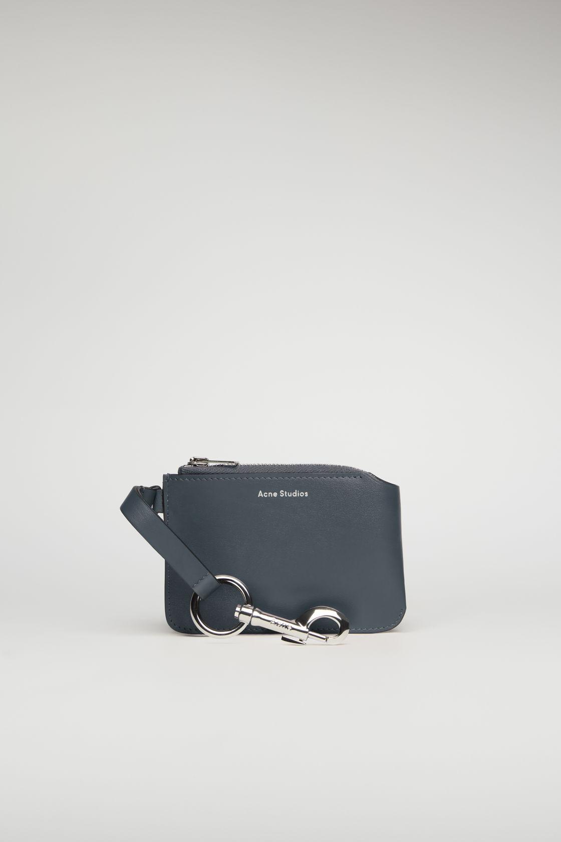 Acne Studios, Keychain purse dark blue, от 488лв на 293лв